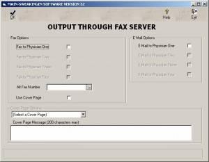 E-Fax Output