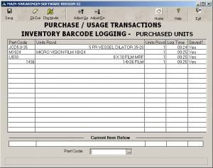 Purchase/Usage Transactions - Purchased Units