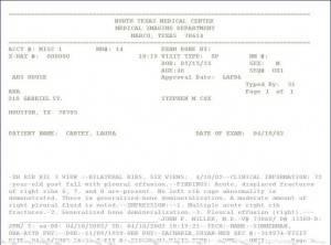 E-Fax Sample