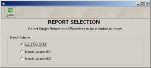 Report Selection